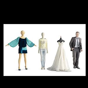3d商場模特模型
