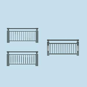 橋欄桿模型