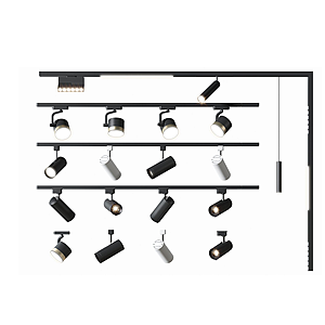 明裝筒燈模型