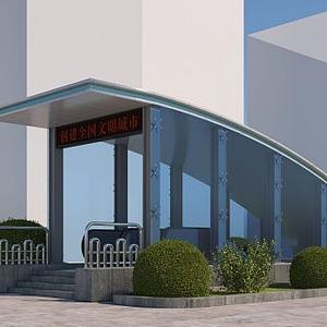 地鐵入口模型