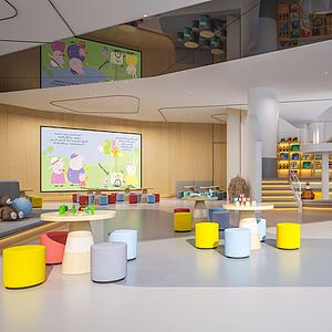 幼兒園模型