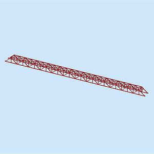 3d鋼桁架模型