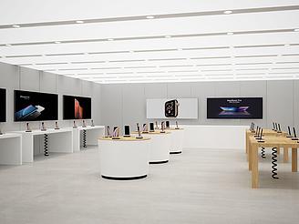 科技展廳模型