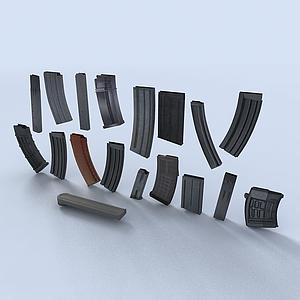機槍彈夾模型