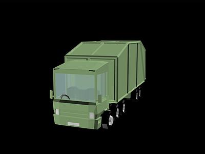 3d卡車交通<font class='myIsRed'>工具</font>模型