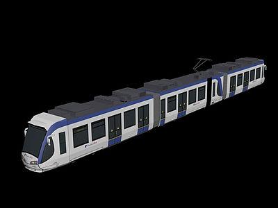 3d輕軌模型