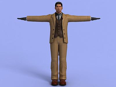 動漫人物3d模型