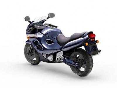 3d鈴木摩托車模型