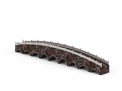 3d戶外橋免費模型