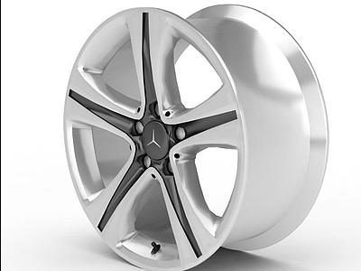汽車輪圈模型