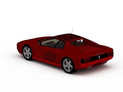 3d<font class='myIsRed'>法拉利</font>跑車免費模型