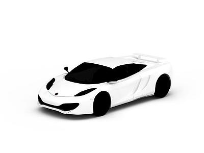 3d跑車邁凱輪免費模型