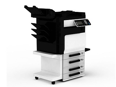 辦公打印設備模型3d模型