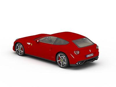 3d<font class='myIsRed'>法拉利</font>家庭轎車模型