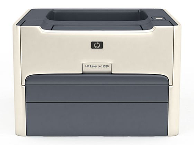辦公打印機模型3d模型