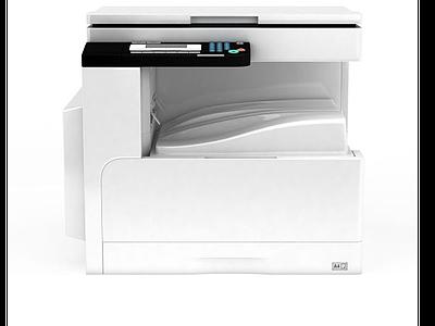辦公復印機模型3d模型