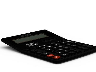 辦公計算器模型3d模型