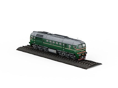 3d<font class='myIsRed'>火車</font>免費模型