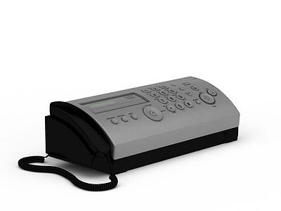 辦公電話模型3d模型