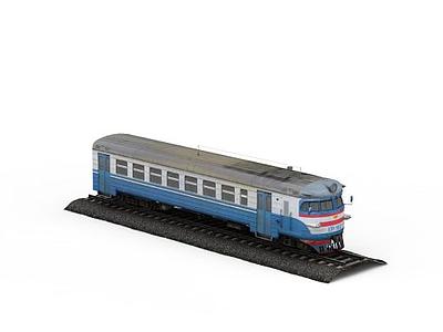 3d帶鐵軌<font class='myIsRed'>火車</font>模型