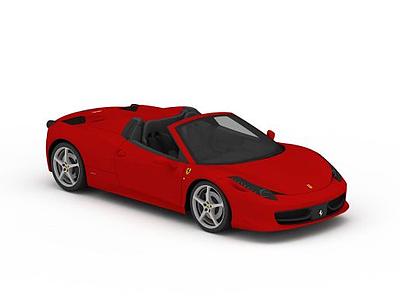 3d<font class='myIsRed'>紅色</font>跑車模型