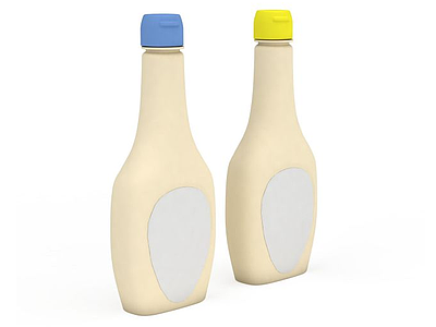 3d果汁瓶免費模型