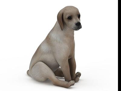 動物犬模型3d模型