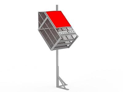3d公共廣告牌免費模型