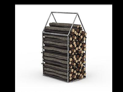 生火木柴模型3d模型