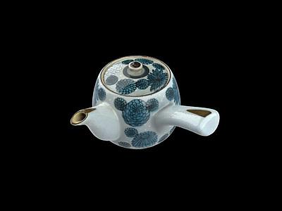 茶壺模型3d模型
