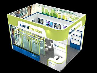 電子展覽館模型