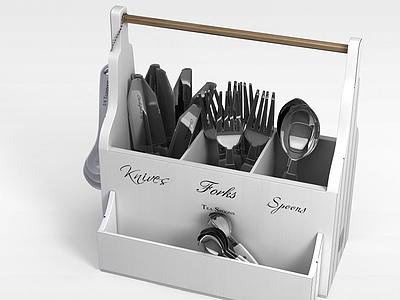 廚具整理架模型3d模型