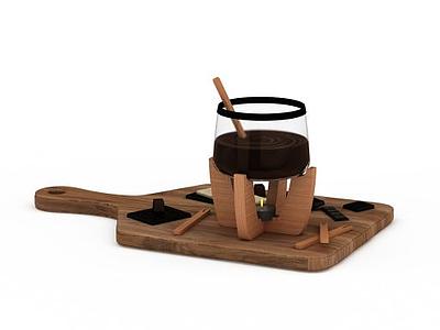 咖啡支架模型3d模型