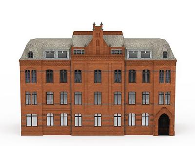 3d建筑免費模型