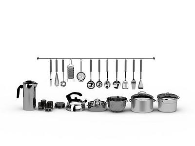 廚房廚具模型3d模型