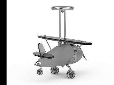 兒童玩具飛機模型3d模型
