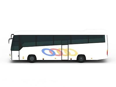3d大巴車免費模型