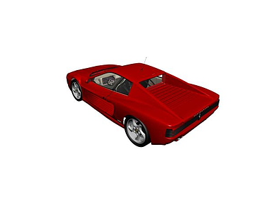 3d<font class='myIsRed'>法拉利</font>跑車模型