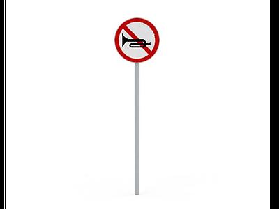 3d交通標識免費模型