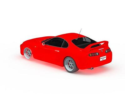 3d<font class='myIsRed'>紅色</font>轎車模型