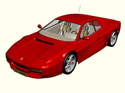 3d<font class='myIsRed'>法拉利</font>塞車免費模型