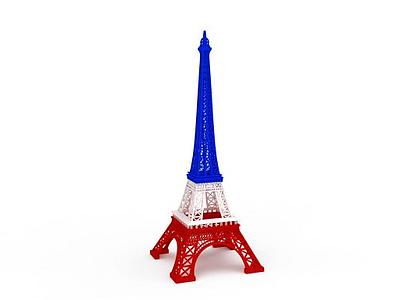 3d創意擺件鐵塔模型