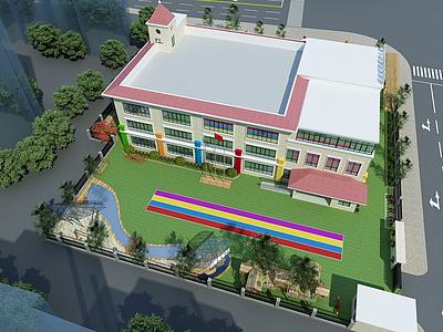 幼兒園操場模型