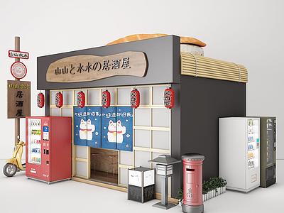 售貨亭模型
