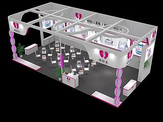 電子展廳模型