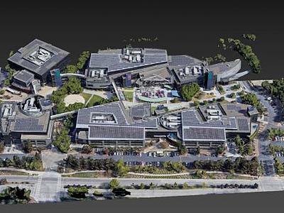 谷歌總部3d模型