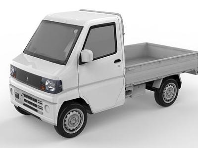 小貨車模型3d模型