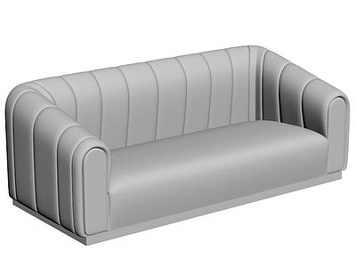 C4D休閑沙發3d模型模型