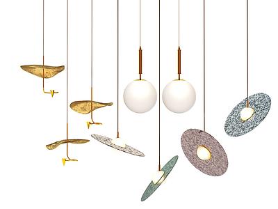 北歐吊燈模型3d模型