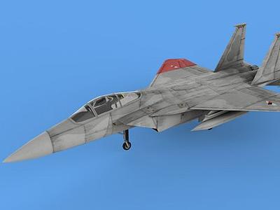 F15戰機模型3d模型
